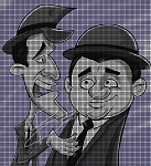 Abbott & Costello Cartoon Crochet Pattern